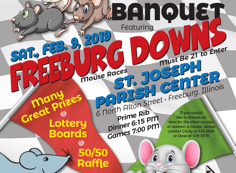 Freeburg Chamber Mouse Races Just Around the Corner!