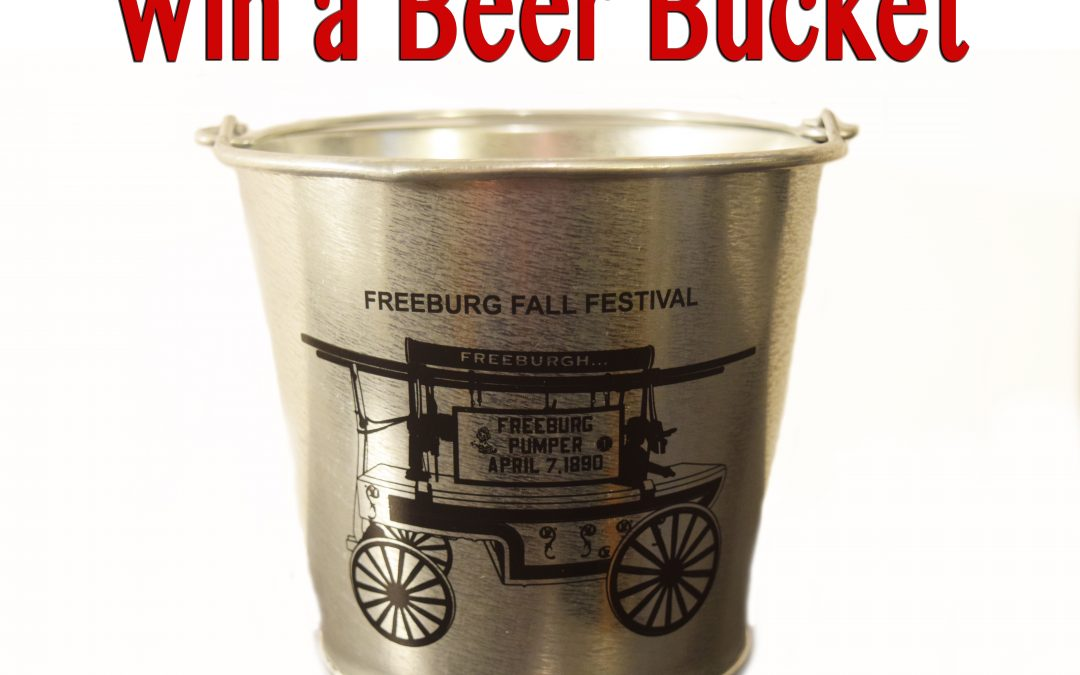 Enter to Win a Freeburg Chamber Beer Bucket!